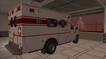 Saints Row variants - Ambulance - rear right