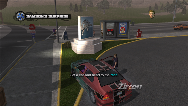 File:Samson's Surprise objective - Get a car and head to the race.png