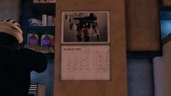Saints HQ Calendar