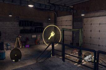 Angel's Gym - garage