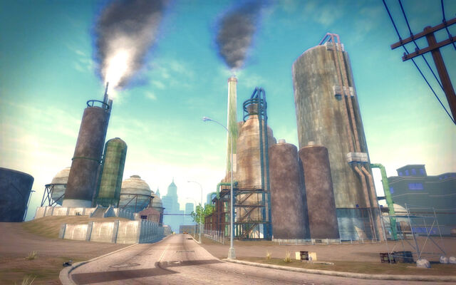 File:Pilsen in Saints Row 2 - refinery road.jpg
