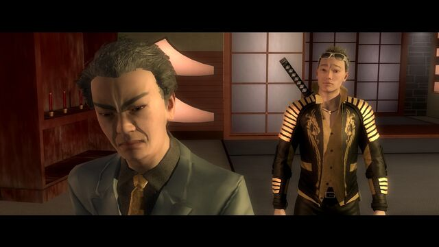 File:Kanto Connection - Kazuo Akuji facing away from Shogo Akuji.jpg