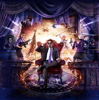 Saints Row IV - Box Art