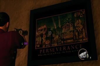 3 Count Casino - Perseverance motivational poster