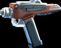 SRIV Pistols - Quickshot Pistol - Red Shirt Special - Galactic Red