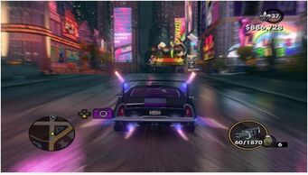 Hammerhead with Nitrous in Saints Row The Third