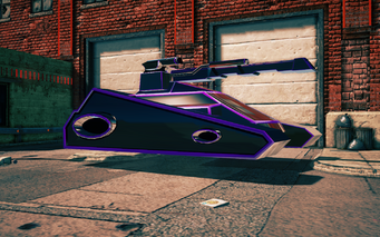 Recursor - front right in Saints Row IV
