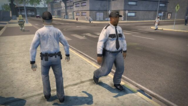 File:Security Guard - front and rear at the Nuclear Power Plant.jpg