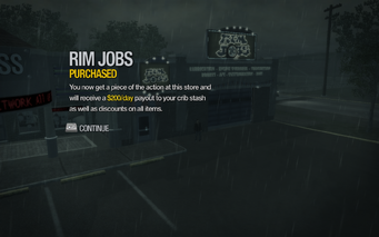 Rim Jobs in Misty Lane purchased in Saints Row 2