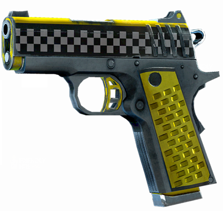 File:SRIV Pistols - Quickshot Pistol - 9MM Tactical - Taxi Cab.png