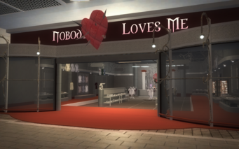 Nobody Loves Me exterior in Saints Row 2