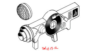 Dubstep Gun Concept Art - clean sketch
