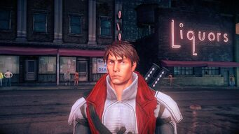 Nyte Blayde - face in Saints Row IV