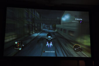 Specter in pre-release gameplay footage