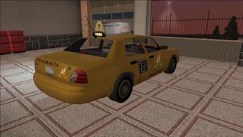 Saints Row variants - Taxi - Eagle - rear right