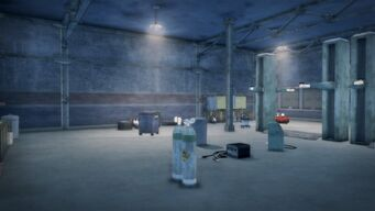Donnie's - Interior in Saints Row 2 - wide view looking towards the front
