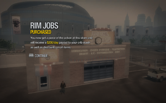 Rim Jobs in Ultor Dome purchased in Saints Row 2