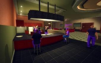 Downtown Loft - Modern - bar