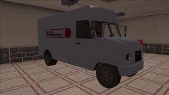 Saints Row variants - Delivery Truck - BPS - front right