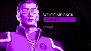 Welcome Back mission complete