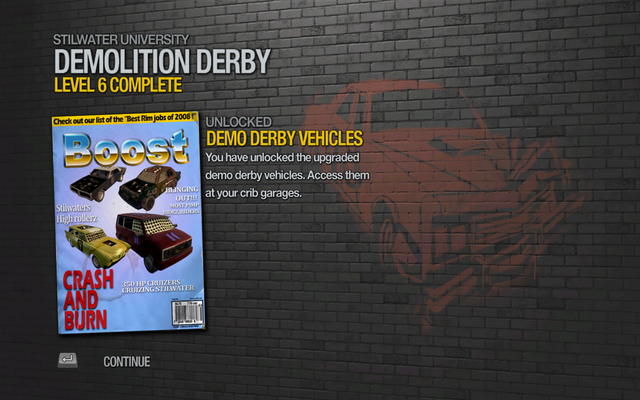 File:Demo Derby Vehicles unlocked in Saints Row 2.png