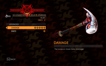 Gat out of Hell - Gods Hammer - Upgrades