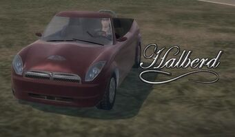 Halberd with logo in Saints Row 2 - front left