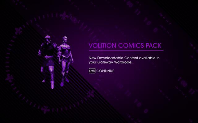 File:Saints Row IV DLC Unlock - Volition Comics Pack.png