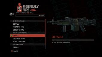 Weapon - Rifles - Automatic Rifle - Mercenary LMG - Default