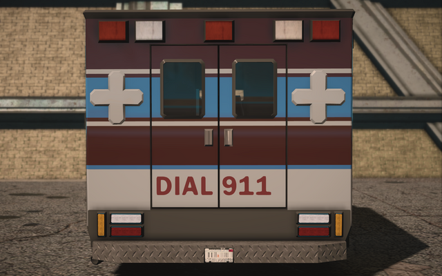 File:Saints Row IV variants - Ambulance Average - rear.png