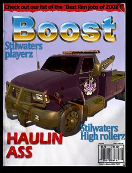 Boost-unlock shaft