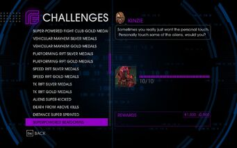Challenge 31 Superpowered Beatdowns