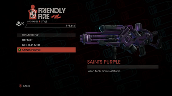 Weapon - Rifles - Alien Rifle - Dominator - Saints Purple