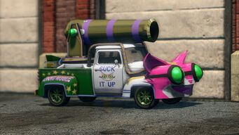 Genki Manapult - front right in Saints Row The Third