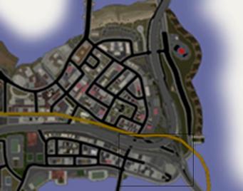 Athos Bay - low resolution map