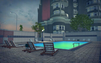 Tidal Spring in Saints Row 2 - pool