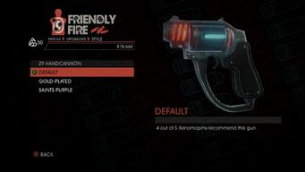 Weapon - Pistols - Alien Pistol - Z9 Handcannon - Default