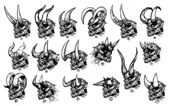 Archduke Concept Art - 17 versions