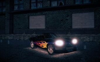 Rattler - front right with lights and flame decal in Saints Row IV