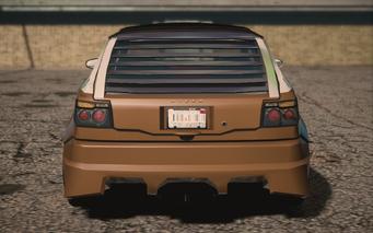 Saints Row IV variants - Mockingbird Ultimate - rear