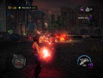 Power Up CID - Protect CID objective - Alien Kill