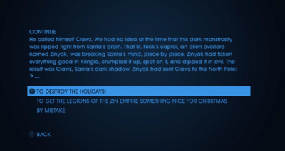 Christmas Text Adventures - Holidays Past And Present - fourth choice