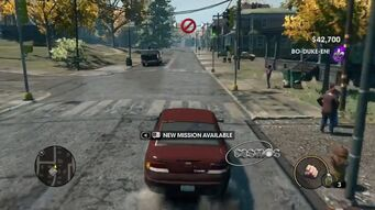 Cosmos - rear with with logo in Saints Row The Third