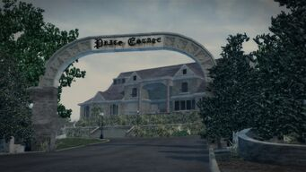 Price Mansion - archway in Saints Row 2