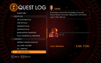 Gat out of Hell Challenge - Kill Archdukes