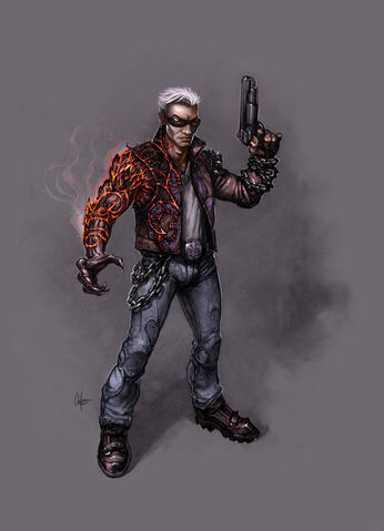 File:Johnny Gat Concept Art - Gat out of Hell - demon arm.jpg