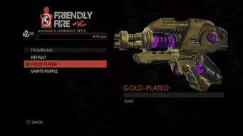 Weapon - Shotguns - Thumpgun - Thumpgun - Gold-Plated