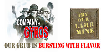 Company Of Gyros billboard