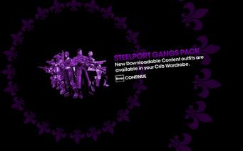 DLC unlock SRTT - Steelport Gangs Pack