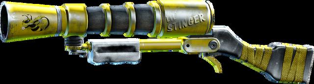 File:SRIV Shotguns - Semi-Auto Shotgun - Ion Blaster - Lil' Stinger.png